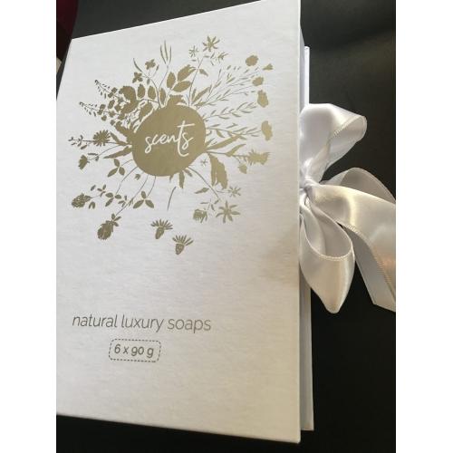 Luxusní dárková krabička 6 mýdel