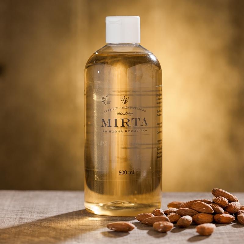 Kvalitní masážní olej s výtažky z levandule a borovice