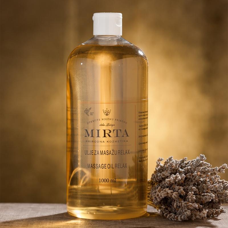 Velmi kvalitní masážní olej s obsahem přírodních látek